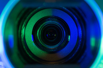 VIDEO CAMERA LENS © Denniro | Dreamstime.com